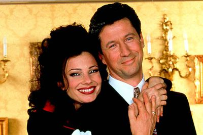 <B>The URST:</B> Mr Sheffield (Charles Shaughnessy) saw more in Fran Fine (Fran Drescher) after she became the nanny to his three children. He first confessed his love when he thought they were about to die in a plane crash at the end of the season three (though he took it back), but it wasn't till season five that they hooked up for real. The once-snappy sitcom only lasted one more season after they got married.