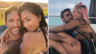 new celebrity couples, Instagram official, red carpet official, Nicole Scherzinger, Lady Gaga