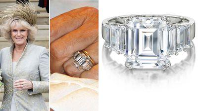 Duchess of Cornwall's engagement ring
