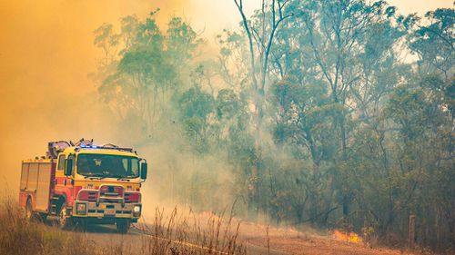 Warnings have also been issued further north near Mackay, where another intense fire is contained but still poses a danger.
