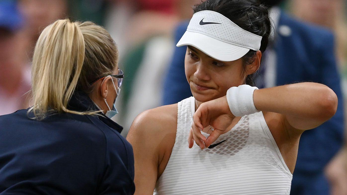 Wimbledon 2021: Emma Raducanu furore sparked by John McEnroe after retirement
