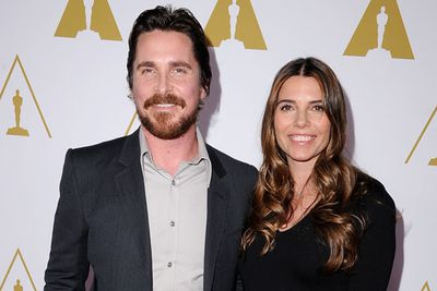 <i>American Hustle</i>'s Christian Bale has the support of his beautiful wife Sibi Blazic