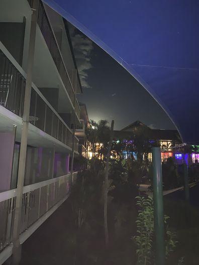 Paradise Resort Order Up pink moon
