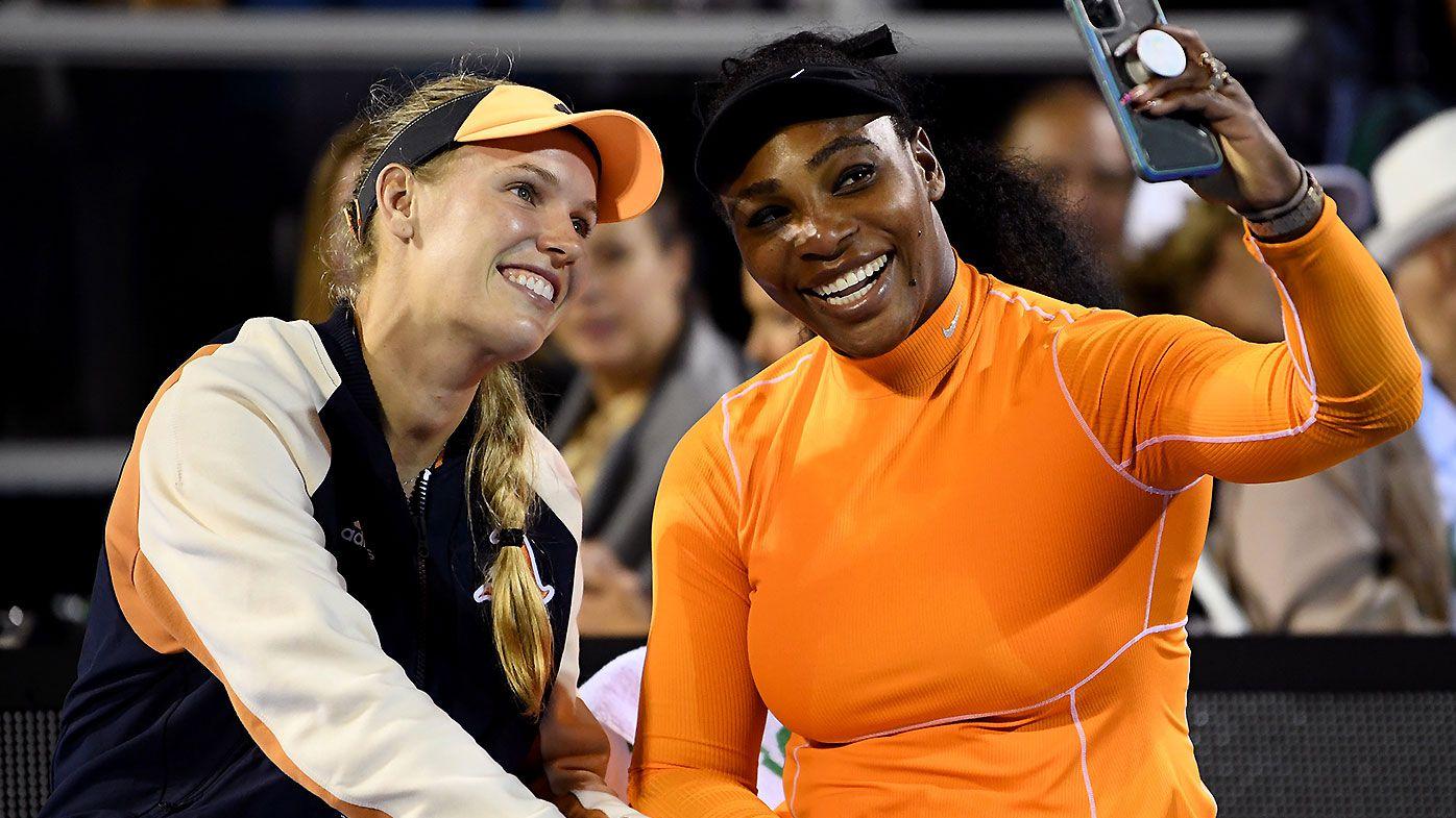 Caroline Wozniacki Serena Williams