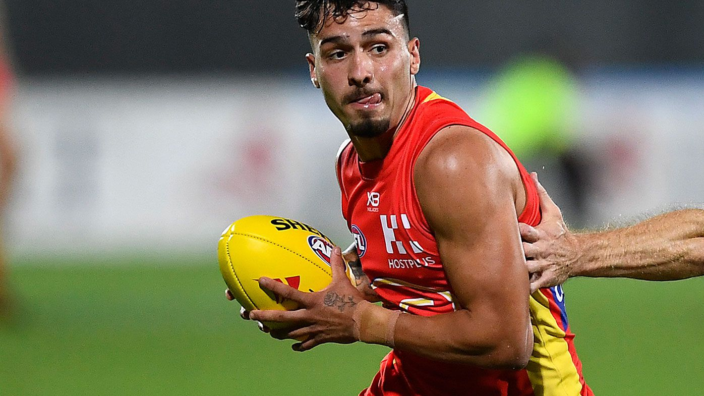 Izak Rankine in action for Gold Coast.