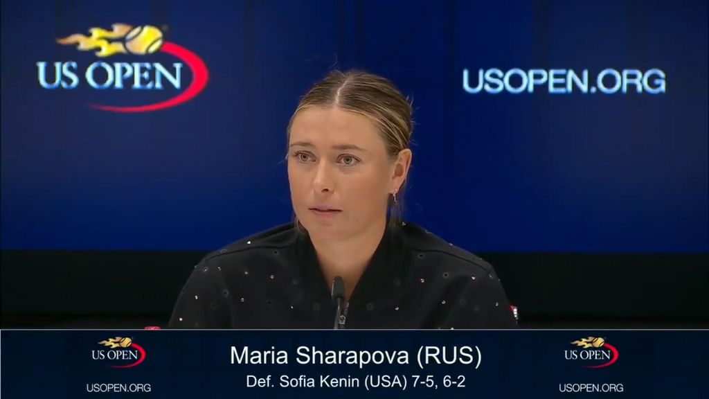 Sharapova hits back at Wozniacki