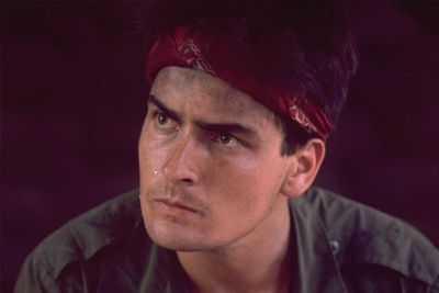 """<b>Back in the 80s... </b> Charlie had quite the film career going, with meaty roles in <i>Red Dawn</i>, <i>Platoon</i> and <i>Wall Street</i>. He also had a cameo in <i>Ferris Bueller's Day Off</i> as a boy in trouble with the police because of drugs. Go figure.<br/><br/>MusicFIX: <a href=""""http://music.ninemsn.com.au/slideshowajax/207137/80s-fashion-amazing-tragic-pop-style.slideshow"""">Amazing/tragic 80s fashion!</a>"""