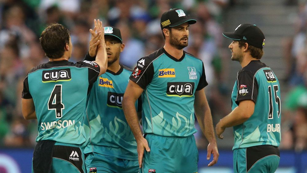 Swepson spins Heat to BBL win over Stars