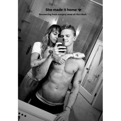 Miley Cyrus and Cody Simpson: October 2019
