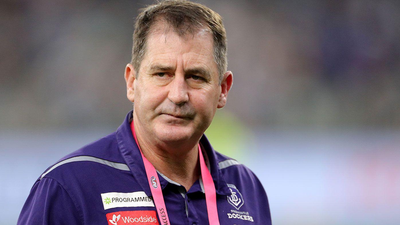Fremantle Dockers sack 'toxic' AFL coach Ross Lyon