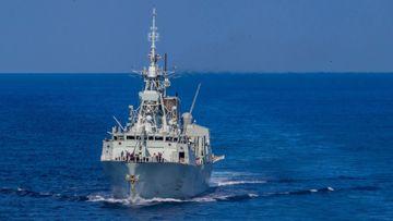 HMCS Regina.