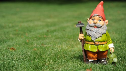 There is a shortage of garden gnomes in the UK