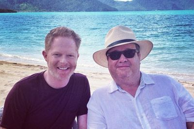 @jessetyler: Shooting a Marriage Equality PSA at the Great Barrier Reef!