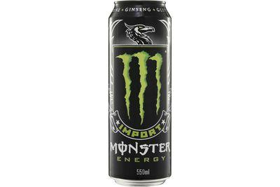 Monster (550ml): 50g sugar