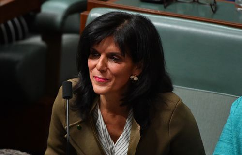Departing MP Julia Banks might be leaving but she's hinted to constituents she might not be done with politics.