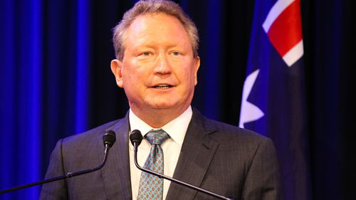 "Andrew ""Twiggy"" Forrest has dropped to 480th richest person in the world. (AAP)"