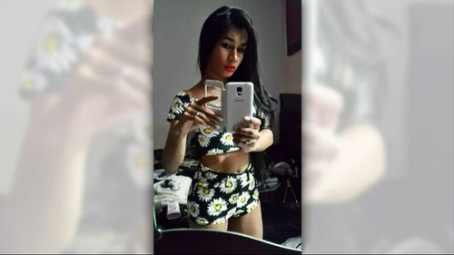 Family and friends have paid tribute to Mayang following her brutal murder. (9NEWS)