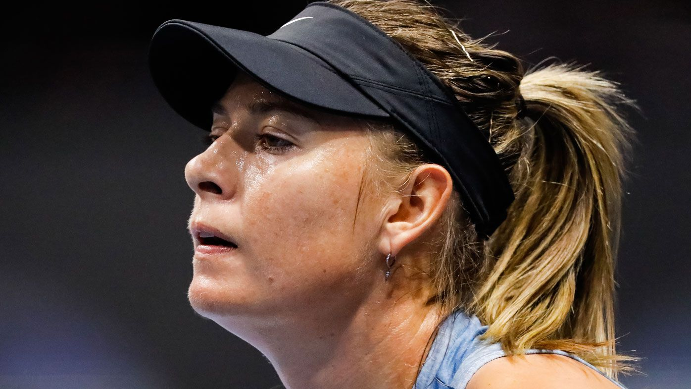 Maria Sharapova withdraws from St Petersburg event with right shoulder injury