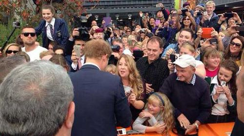 Prince Harry's emotional NZ reunion with former matron