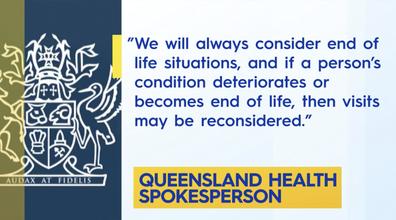 Queensland Health provided the above statement, regarding Mr Barber's case.