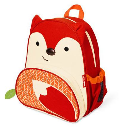 "<p>Keep everything safe and sound in a backpack that's cute as a button.</p> <p><a href=""http://shop.davidjones.com.au/djs/en/davidjones/skip-hop-fox-zoo-pack"" target=""_blank"" draggable=""false"">Skip Hop Fox Zoo Back Pack, $29.95. </a></p>"