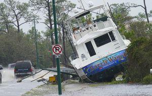 Hurricane Sally dumps huge amounts of rain, downs powerlines, turns streets into rivers