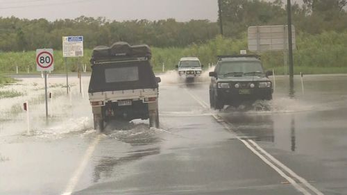 Flash flooding is affecting residents in far north Queensland.