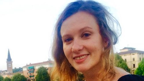 Rebecca Dykes was found dead in Beirut. (AAP)