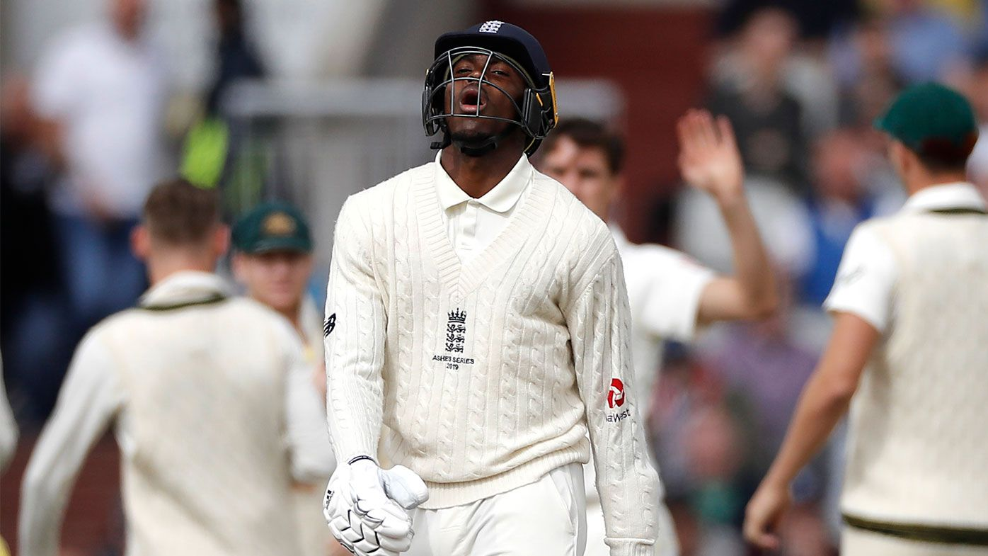 Archer's performance with the bat has been criticised on day four
