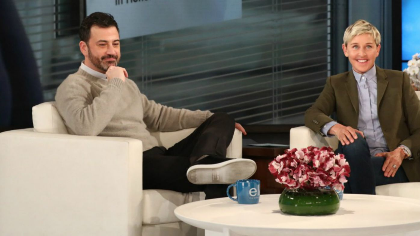 Hospital room dedicated to Jimmy Kimmel's son — Ellen DeGeneres