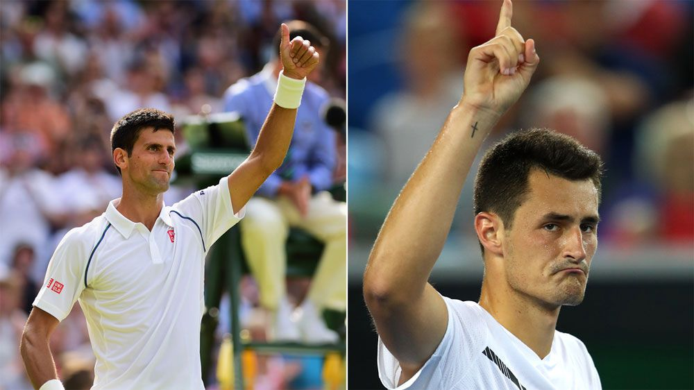 Djokovic empathises with Tomic's plight after record Wimbledon fine