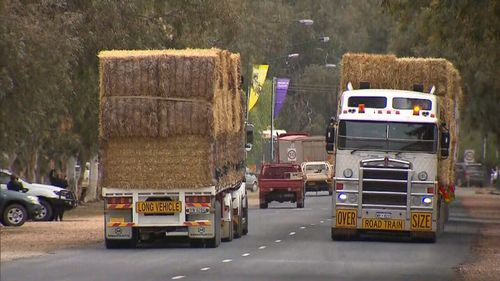 Truck drivers will be able to transport more hay to drought-stricken farmers across New South Wales.
