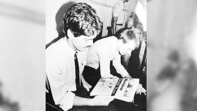 Kevin Barlow and Brian Chambers - aged 28 and 29 from Perth. Chambers and Barlow were hanged on July 7, 1986 in Malaysia after being caught at Penang Airport in 1983 with 400g of heroin. (AAP)