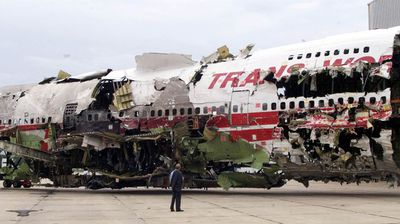 "All 230 people on board TWA Flight 800 were killed when the Paris-bound plane exploded mid-air in 1996. Witness accounts of seeing a ""streak of light"" and a fireball lead to theories that the plane was hit by a meteor or even a bomb. But an investigation into the incident found that the sparks were caused by an electrical short circuit that ignited in the planes fuel tank."