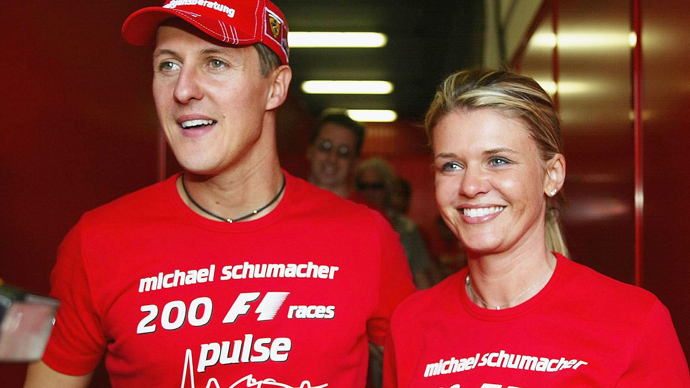 Michael Schumacher's wife breaks down discussing legend's near-fatal skiing accident