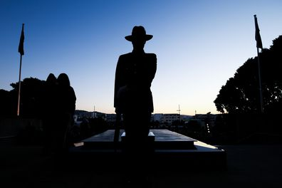Anzac Day Dawn Service, Point Danger, Victoria