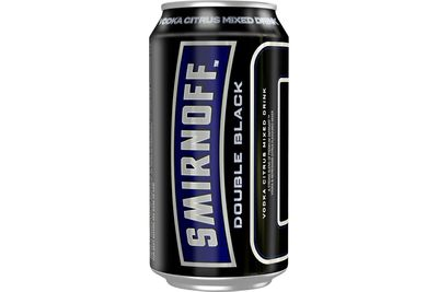 Smirnoff Ice Double Black 6.5 percent (375ml): 1069kj