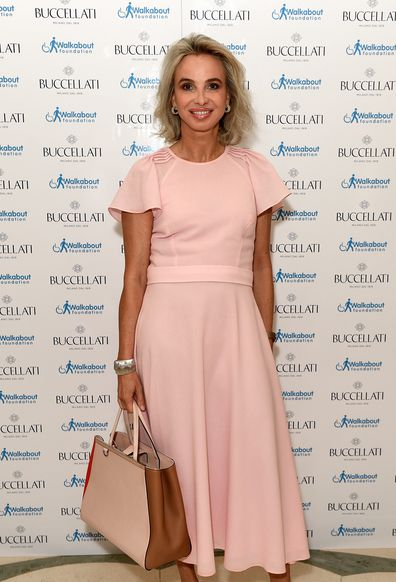 Corinna zu Sayn-Wittgenstein-Sayn attends the Women4Walkabout Ladies Luncheon Sponsored By Buccellati at Claridges Hotel on June 16, 2017 in London, England.