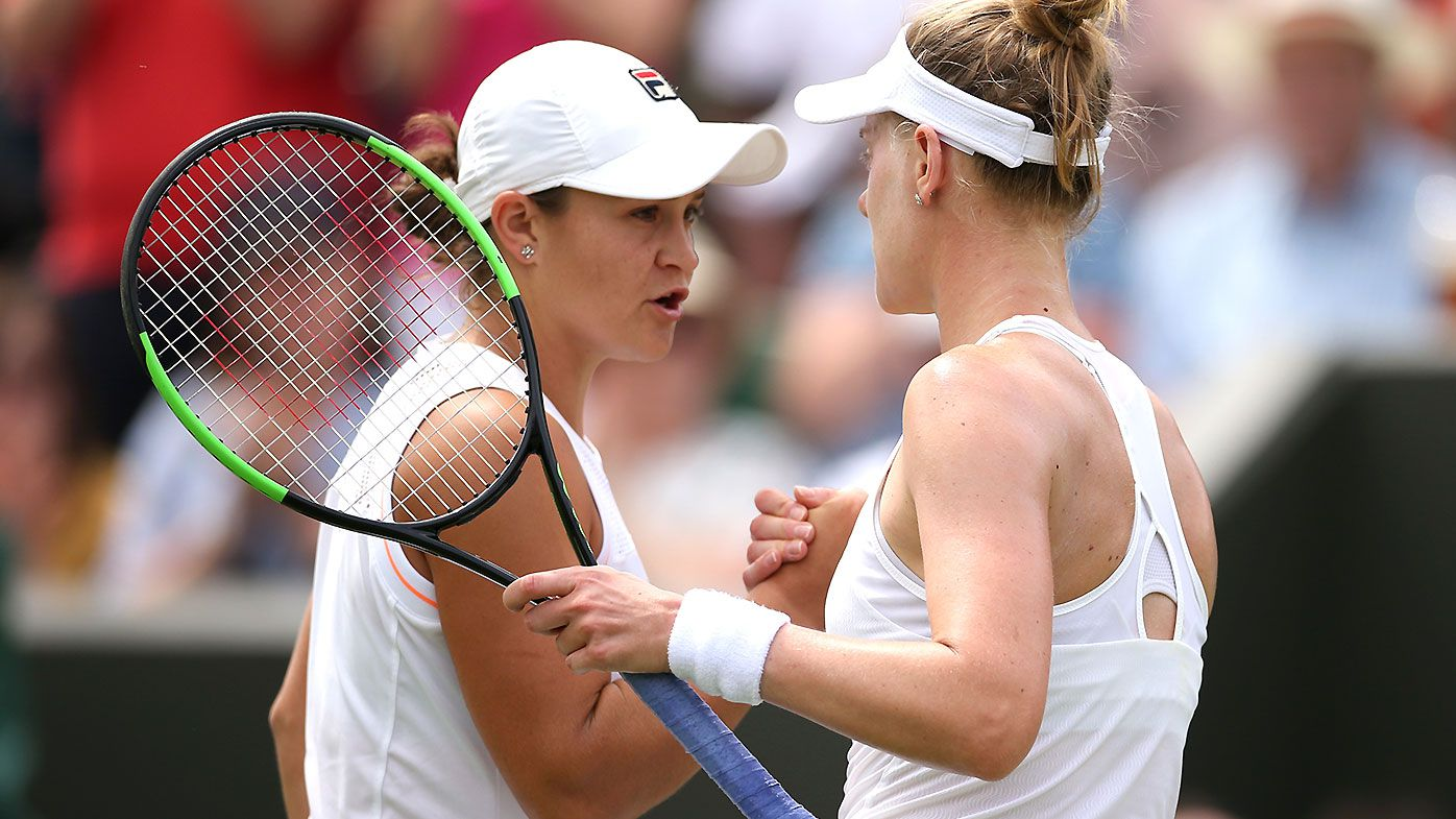 Alison Riske chokes up after incredible victory over Ash Barty