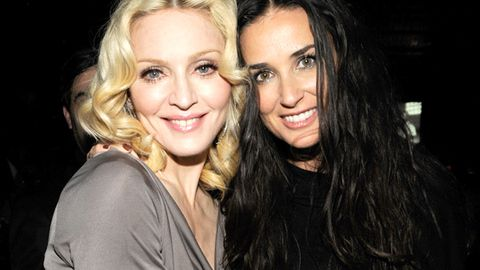 Madonna rushes to help Demi Moore