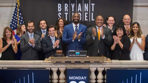 Kobe Bryant partnered with Jeff Stibel, an entrepreneur and investor, to form the venture-capital firm Bryant Stibel.