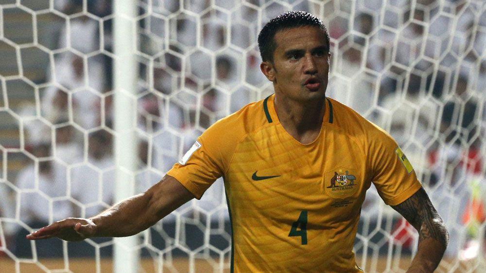Supersub Cahill earns Socceroos win