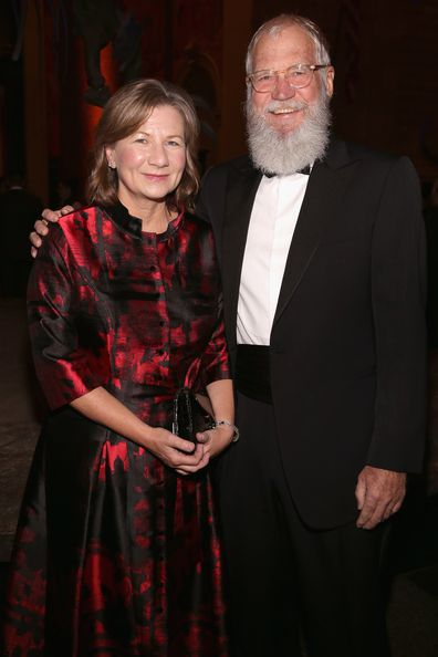 David Letterman and wife Regina Lasko at American Museum of Natural History on November 30, 2017 in New York City.