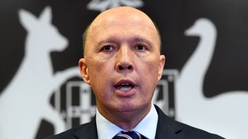 Peter Dutton has claimed refugees are being encouraged to self-harm to take advantage of the medevac laws.