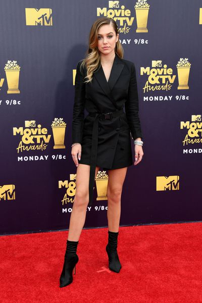 Model Delilah Belle Hamlin at the 2018 MTV Movie and TV Awards