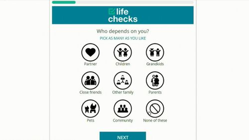 The Life Checks website offers free advice aimed at better health and great security.