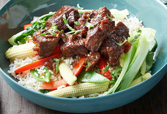 Ita Buttrose's braised beef with soy, ginger and honey