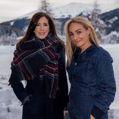 Princess Mary in Davos, Switzerland, January 2019