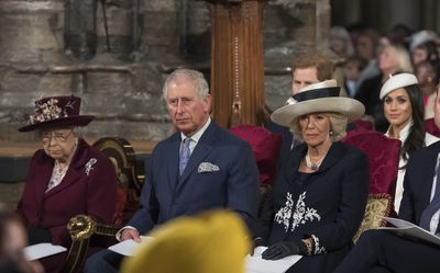 The Royal Family at the Commonwealth Day service, 2018
