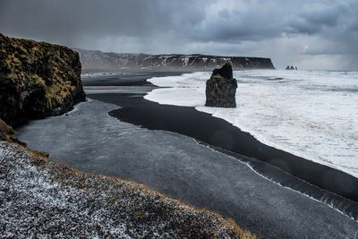 <strong>Black-sanded beach, Vik</strong>
